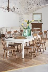 Beautiful Extendable Farmhouse Dining Table Room Set Photo