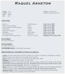 Dance Resume Samples Popular Examples Inspirational 0d Bizmancan Dancer