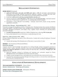 Warehouse Supervisor Resume Samples From Sample Table Inventory