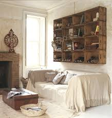 Unique And Repurposed Wall Storage Ideas Crate ShelvingCrate