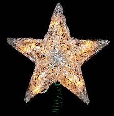 Christmas Tree Toppers by Northlight Seasonal Lighted Fiber Optic Angel Christmas Tree