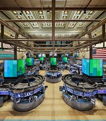 Ubs Trading Floor New York by Perkins Eastman New York Stock Exchange Next Generation Trading