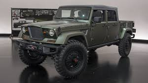 4 Door Jeep Pickup