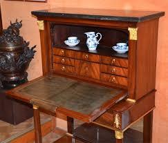 bureau bonheur du jour secrétaire bonheur du jour d époque empire xixe siècle n 59513
