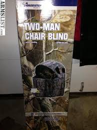 Ameristep Chair Blind Youtube by Armslist For Sale Ameristep 2 Man Chair Blind