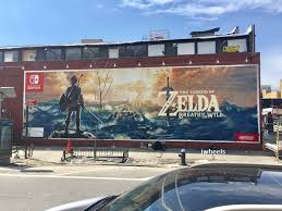 Big Ang Mural Brooklyn by The Legend Of Zelda Breath Of The Wild Official Wall Mural
