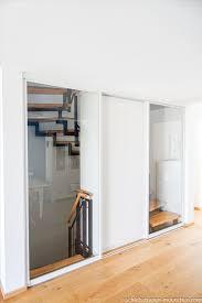 schiebetür treppenhausabtrennung treppe haus treppe haus