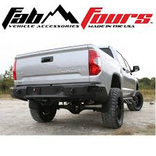 100 Toyota Truck Bumpers Fab Fours Premium HD Matte Black Rear Bumper For 20142019