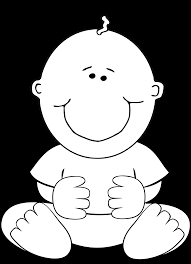 Baby Clipart Black And White Free Clip Art FreeClipart