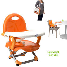 Ebay High Chair Booster Seat by Chicco Pocket Snack Booster Seat Baby Adjustable Chair Portable