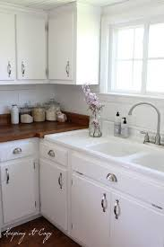 Kitchen Cabinets Painted White Clever Design 28 Best 25 Painting