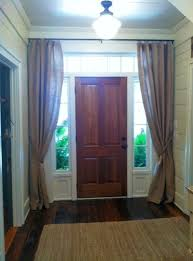 Front Door Side Panel Curtains by Impressive Side Window Curtains And Top 25 Best Sidelight Curtains