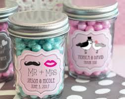 Wedding Favors Mini Mason Jar 4oz Personalized