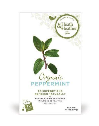 Heath & Heather - Organic Peppermint Tea 20 Bags