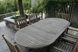 Incredible Weathered Teak Patio Furniture Others