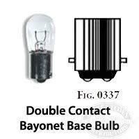 perko contact bayonet base bulb