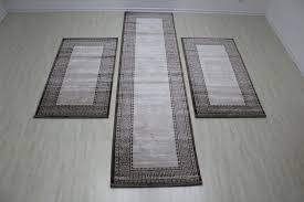 bettumrandung eleysa braun hochwertig teppich teppiche neu