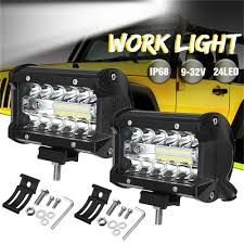 1PCS 72W 1920LM LED Work Light Flood Spot Combo Beam For Offroad Car ... 12v 18w 6led Waterproof Led Headlights Flood Work Light Motorcycle 4pcs 4inch Work Light Bar Driving Flood Beam Suv Atv Jeep New 4inch 57w Lights Offroad Led Bar Trucks Boat 4x4 4wd Atv Uaz Suv Driving 2pcs 18w Flood Beam Led Work Light 12v 24v Offroad Fog Lamp Trucks Truck Lite Spot With Ingrated Mount 81711 Trucklite 50 Inch 250w Spotflood Combo 21400 Lumens Cree Signalstat Stud Mount Oval Lot Two Mini 27w 9 Worklights Fog For Tractor Xrll 27w Forklift Square Cube Pods Flush