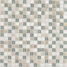Daltile Quarry Tile Canyon Red by Jeffrey Court Bellagio Pebble Brown Tan Brick 12 In X 12 In X 8