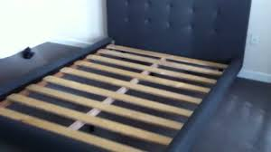 Crate And Barrel Colette Bed by Crate Barrel Tate Bed Assembly Service Video In Dc Md Va By