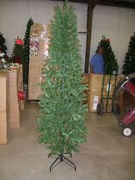 Downswept Pencil Christmas Tree by 17 Downswept Pencil Christmas Tree 9 Foot Slim Christmas