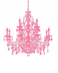 Bubblegum Pink Chandelier 8x10 Print Digital By SpunkyBinky