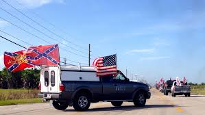 100 Rebel Flag Truck Confederate S Fly Proudly In Loxahatchee Rally WLRN