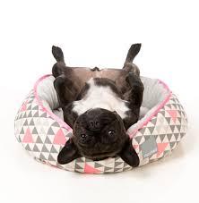 Burrowing Dog Bed by Fuzzyard Pink Rock Dog Bed Fuzzyard Dogbed Dog Sleep