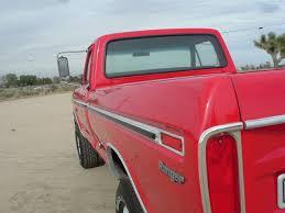 1976 F250 Highboy Restored 360 4 Speed Red