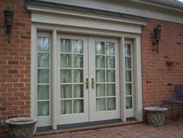 Outswing French Patio Doors by Pella Architect Series French Door Window Information