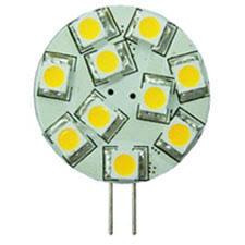 12 volt led bulb g4 side bi pins 10 30vdc blue leds by bee