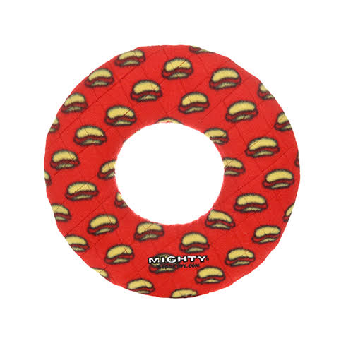 Dog Toy - Mighty Ring Red