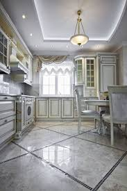 Tile Flooring Ideas For Kitchen by 41 White Kitchen Interior Design U0026 Decor Ideas Pictures