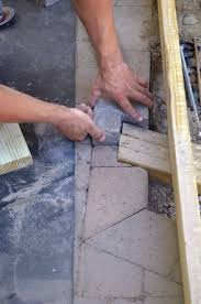 Distance Between Floor Joists On A Deck by Building A Deck On Grade Professional Deck Builder Foundation