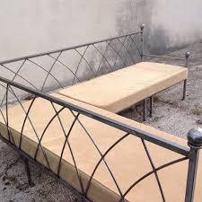 canapé d angle sur mesure en fer forgé fabrication française