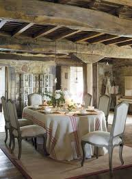 Rustic Romantic Dining Rooms Country FrenchFrench