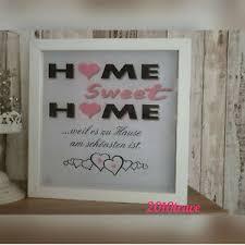 led bild beleuchtet home sweet home geschenk deko familie