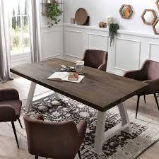 design esszimmer tisch in grau silber nuvellas