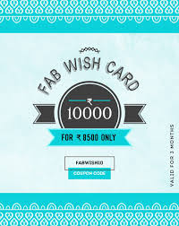 Fab Wish Card - 10000
