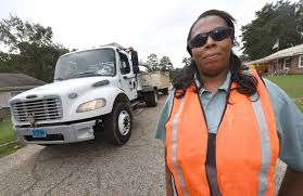 Female Truck Driver Enjoys 'life On The Road' | Business ...