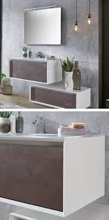 badezimmermöbel modern in weiß braun für dein badezimmer
