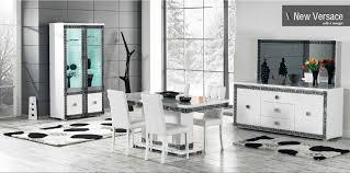 salle à manger complète new versace comprenant buffet vitrine 2