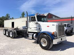 100 Tri Axle Heavy Haul Trucks For Sale 1997 Peterbilt 357 Heavy Haul Triaxle Daycab For Sale