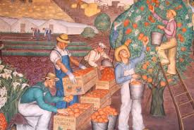 labor fest coit tower wpa mural presentation indybay