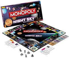 Ufo Alien Gift Ideas Night Sky Monopoly