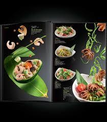 Food Menu Design Yakitoriya Zero Gravity On Behance