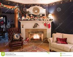 Living Room With Fireplace In Corner by Victorian Christmas Fireplace Corner Stock Photo Image 64135814