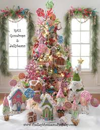 Pink Christmas Tree Flocking Spray by Raz Christmas At Shelley B Home And Holiday Gumdrop And Jellybean