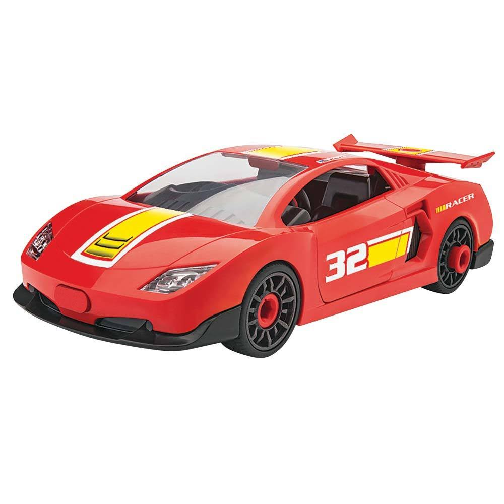 Revell - 451016 Race Car Red