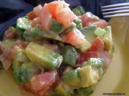 cuisiner avocat recette de salade de pringtemps a l avocat